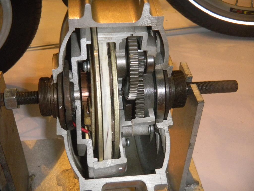мотор колесо со встроенным редуктором